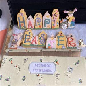 Happy Easter 13 blocks decor